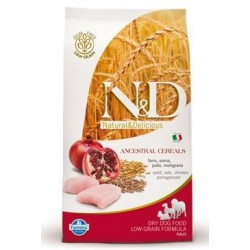 N&D Low Grain DOG Adult Maxi Chicken & Pomegranat 12kg