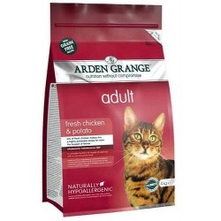 Arden Grange Cat Adult Chicken&Potato 400g