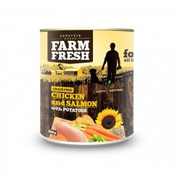Topstein Farm Fresh CHICKEN and SALMON with POTATOES 800g