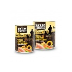 Topstein Farm Fresh CHICKEN and SALMON with POTATOES 6x800g