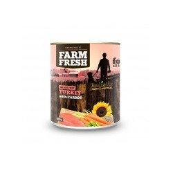 Farm Fresh TURKEY with CARROT 6x800g