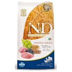 N&D Low Grain DOG Adult Mini Lamb & Blueberry 12kg