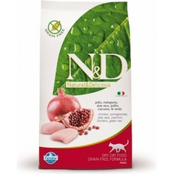 N&D Grain Free CAT Adult Chicken & Pomegranate 10kg Doprava zdarma