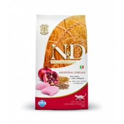 N&D Low Grain CAT Adult Chicken & Pomegranate 10kg