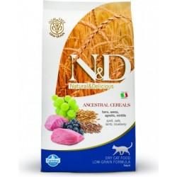 N&D Low Grain CAT Adult Lamb & Blueberry 10kg Doprava zdarma