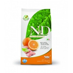 N&D Grain Free CAT Adult Fish & Orange 10kg Doprava zdarma