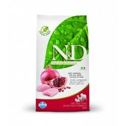 N&D Grain Free DOG Adult Mini Chicken&Pomegranate 7kg Doprava zdarma