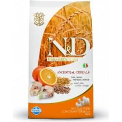 N&D Low Grain DOG Adult Maxi Codfish & Orange 12kg Doprava zdarma