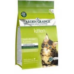 Arden Grange Kitten fresh chicken & potato grain free 8kg