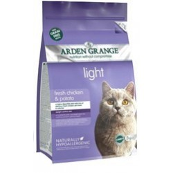 Arden Grange Adult Cat light fresh chicken&potato grain free 2kg