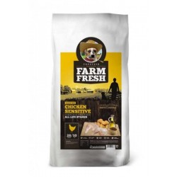 FARM FRESH 15kg CHICKEN SENSITIVE Doprava zdarma