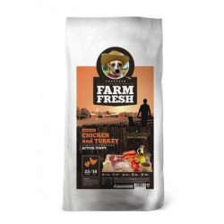 FARM FRESH 15kg POULTRY ACTIVE/PUPPY Doprava zdarma