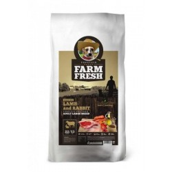 FARM FRESH 10kg LAMB & RABBIT ADULT LARGE BREED Doprava zdarma