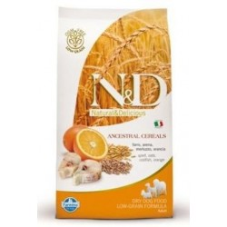 N&D Low Grain DOG Adult Mini Codfish & Orange 12kg Doprava zdarma