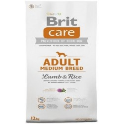 Brit Care 12kg adult Medium Breed Lamb and Rice