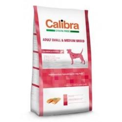 Calibra Dog GF Adult Medium & Small Salmon  12kg NEW Doprava zdarma