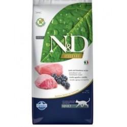 N&D PRIME CAT Adult Lamb & Blueberry 10kg Doprava zdarma