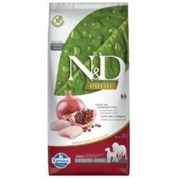 N&D Grain Free DOG Adult Maxi Chicken&Pomegranate 12kg Doprava zdarma
